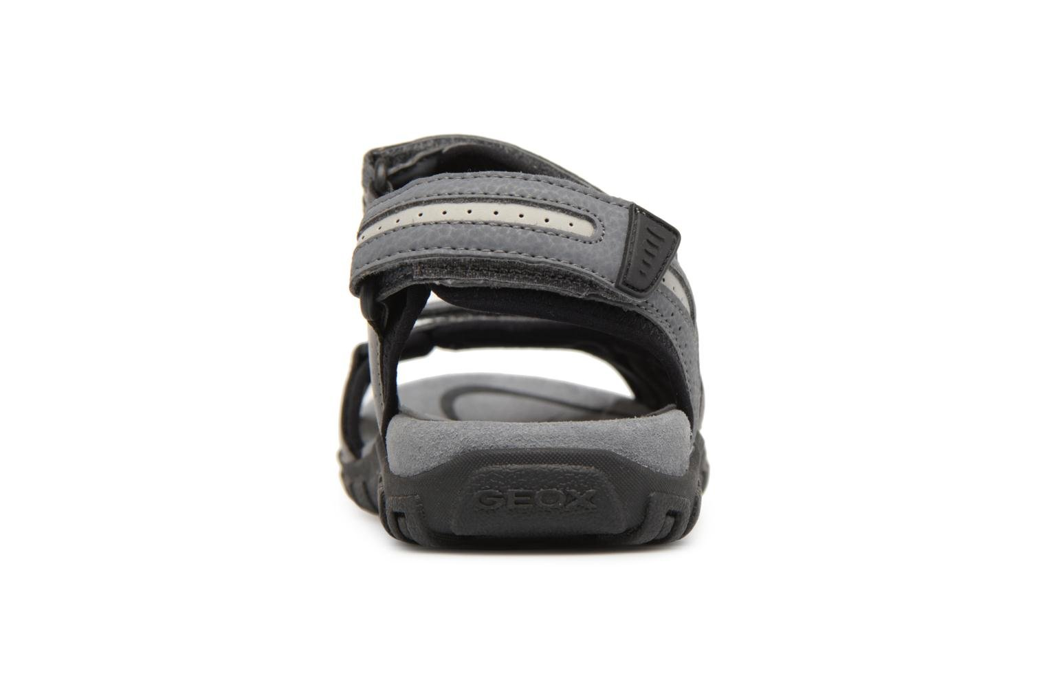 Sandals Geox U S.STRADA D U8224D Grey view from the right