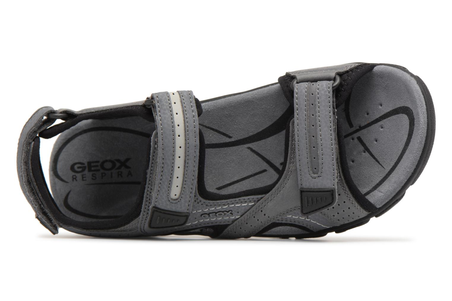 Sandals Geox U S.STRADA D U8224D Grey view from the left