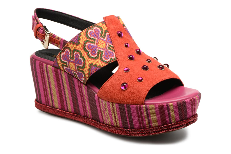 Grandes descuentos últimos zapatos Geox D SAKELY A S824VA (Naranja) - Sandalias Descuento