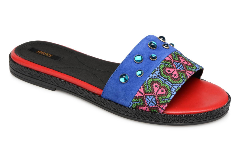 Grandes descuentos últimos zapatos Geox D KOLLEEN H S825SH (Azul) - Zuecos Descuento