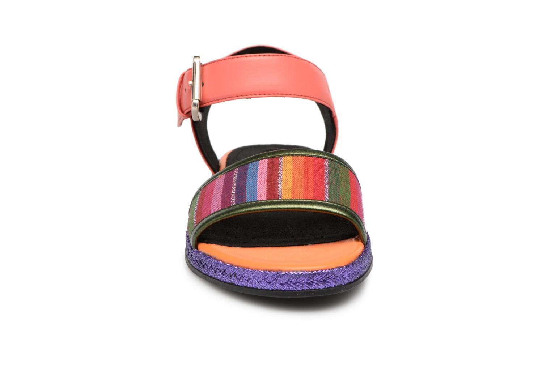 Zapatos promocionales Geox D KOLLEEN J D825SJ (Naranja) - Sandalias   Cómodo y bien parecido