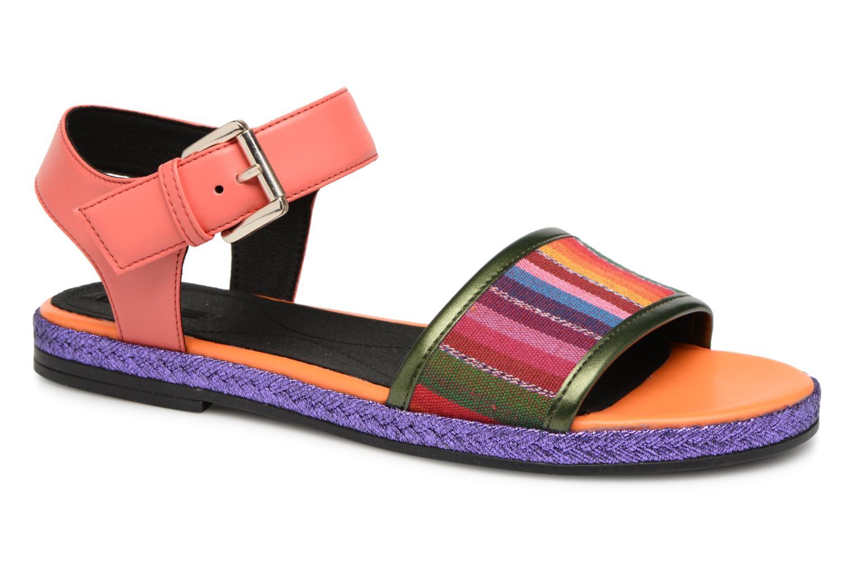 Los últimos zapatos de descuento para hombres y mujeres Geox D KOLLEEN J D825SJ (Naranja) - Sandalias en Más cómodo