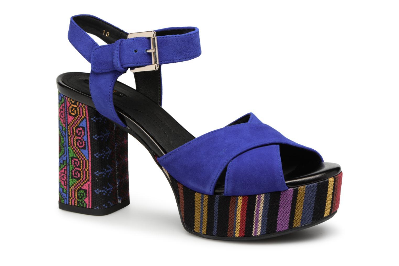 Grandes descuentos últimos zapatos Geox D GALENE C D828WC (Azul) - Sandalias Descuento
