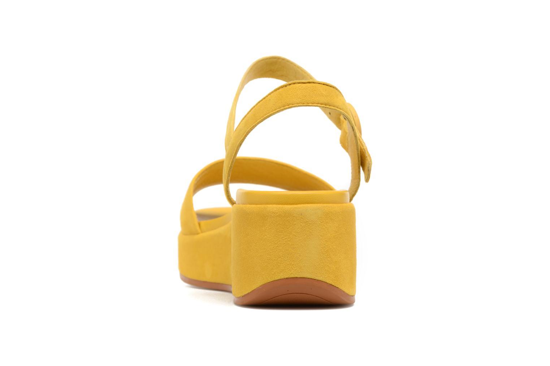 Sandales et nu-pieds Camper Misia 2 Jaune vue droite