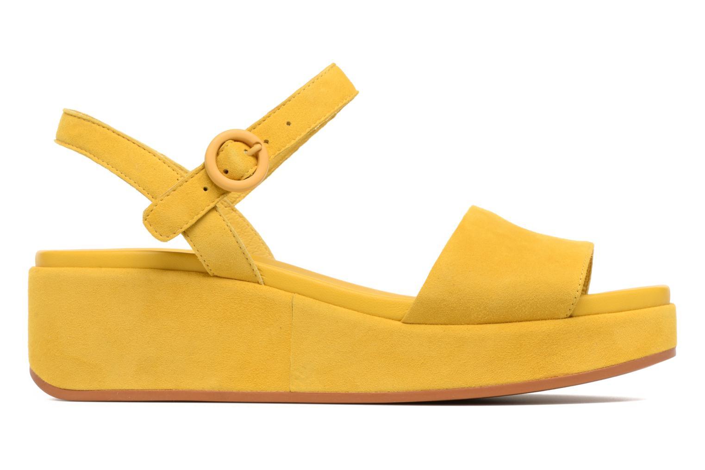 Sandales et nu-pieds Camper Misia 2 Jaune vue derrière