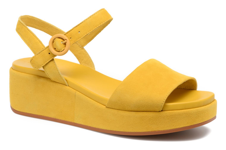 Sandales et nu-pieds Camper Misia 2 Jaune vue détail/paire