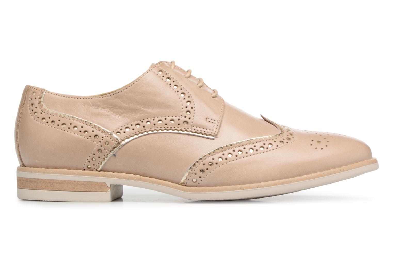 Chaussures à lacets Georgia Rose Nissa Beige vue derrière