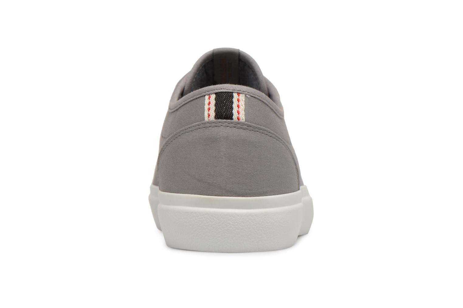 Trainers Jack & Jones JFW Austin Canvas Grey view from the right