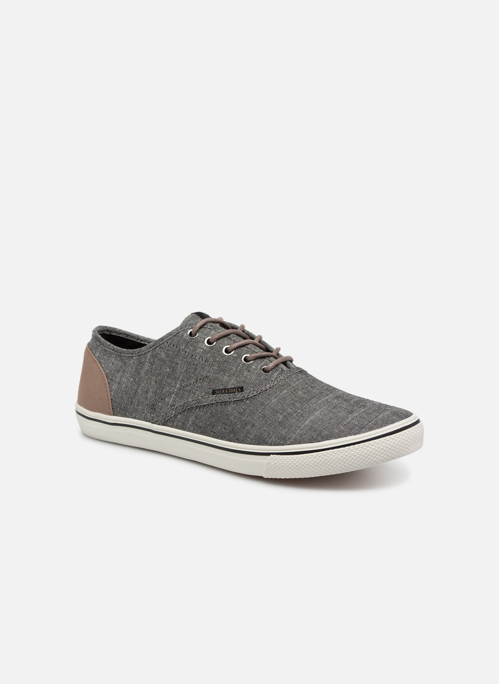 Trainers Jack & Jones JFW Heath Chambray Grey detailed view/ Pair view