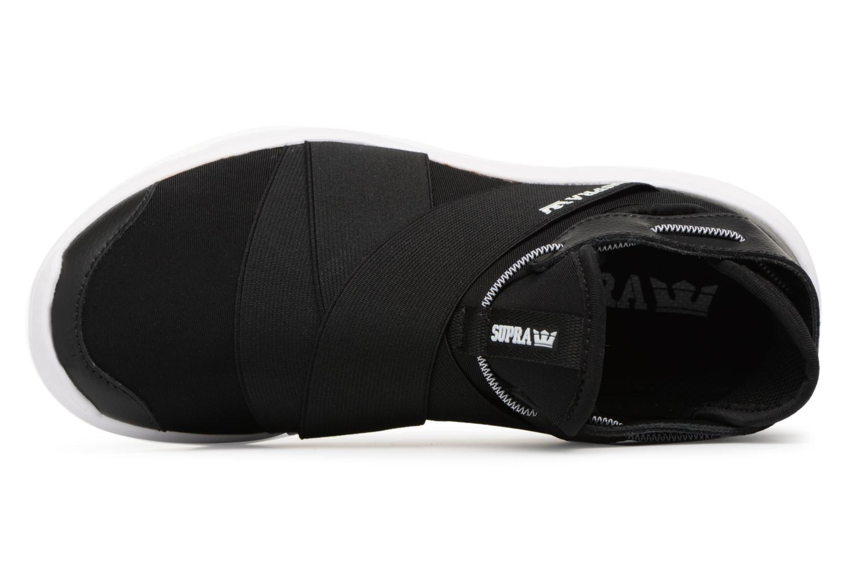 Baskets Supra Anevay Noir vue gauche