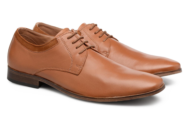 Chaussures à lacets Mr SARENZA Sberry Marron vue derrière