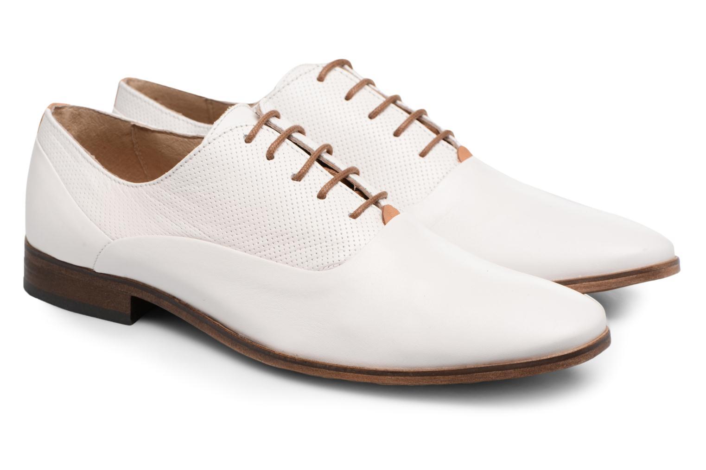 Chaussures à lacets Mr SARENZA Smary Blanc vue derrière