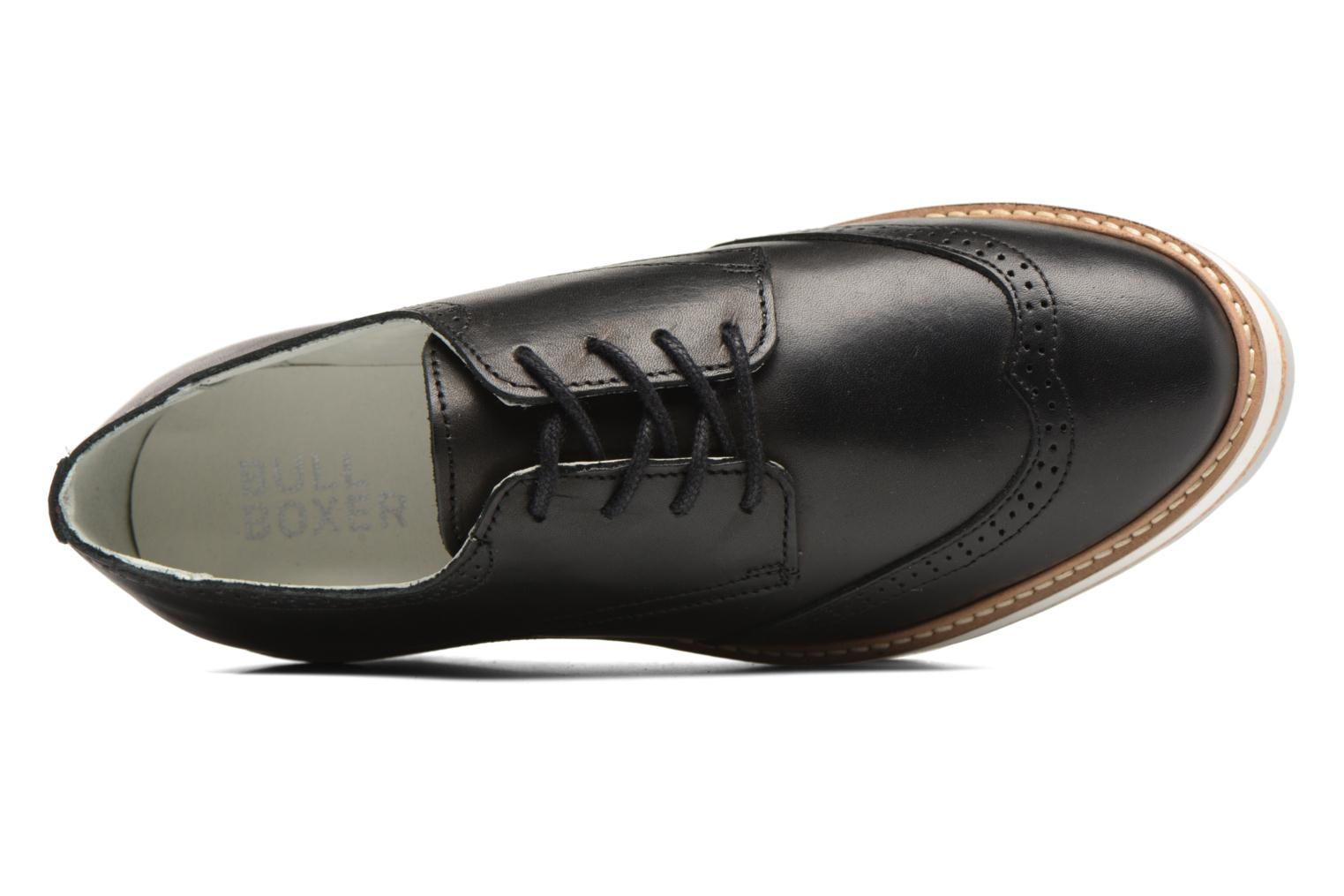 Lace-up shoes Bullboxer MONICA Black view from the left