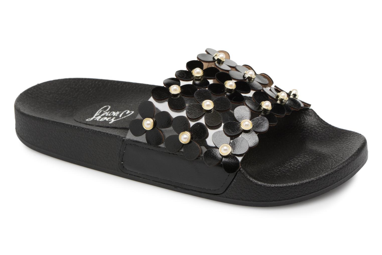 Mules et sabots I Love Shoes Kiflower Noir vue détail/paire
