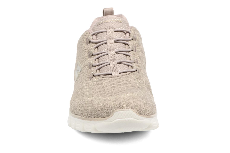 Chaussures de sport Skechers Ez Flex 3.0-Estrella Beige vue portées chaussures