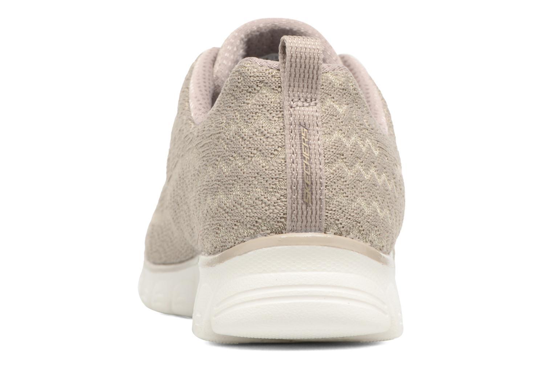 Chaussures de sport Skechers Ez Flex 3.0-Estrella Beige vue droite