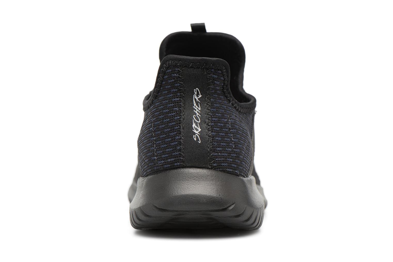 Chaussures de sport Skechers Ultra Flex-Jaw Dropper Noir vue droite