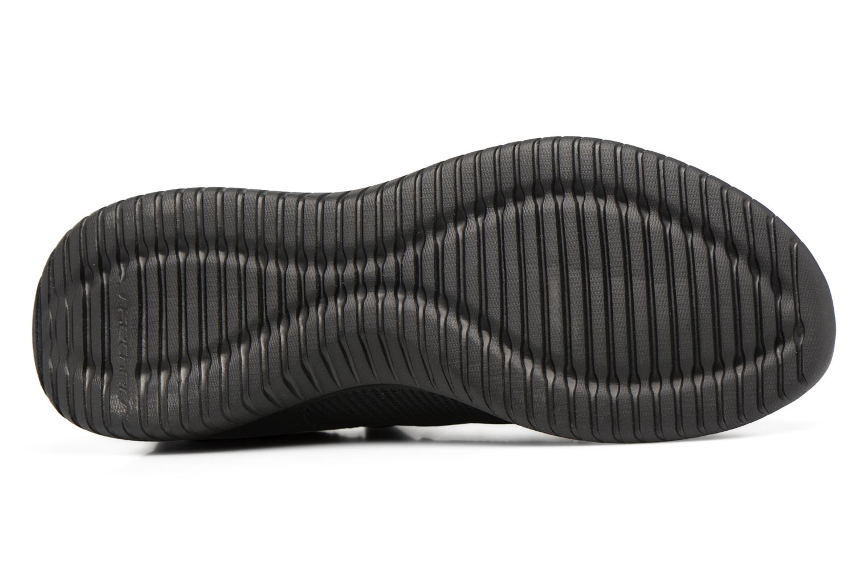 Chaussures de sport Skechers Ultra Flex-Jaw Dropper Noir vue haut