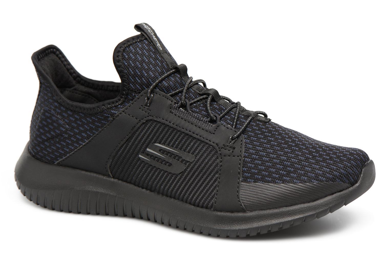 Chaussures de sport Skechers Ultra Flex-Jaw Dropper Noir vue détail/paire