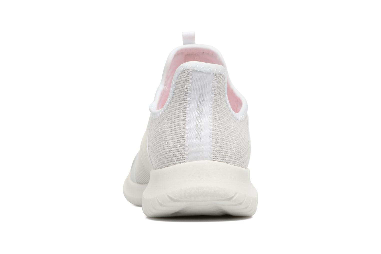 Chaussures de sport Skechers Ultra Flex-Jaw Dropper Blanc vue droite