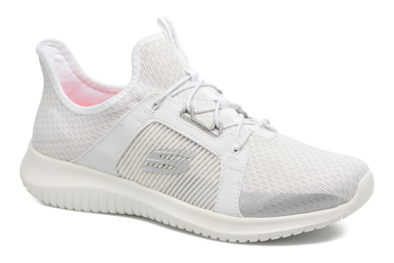 Chaussures de sport Skechers Ultra Flex-Jaw Dropper Blanc vue détail/paire