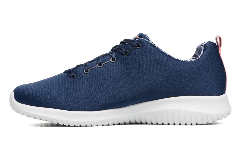 Chaussures de sport Skechers Ultra Flex-First Choice Bleu vue face