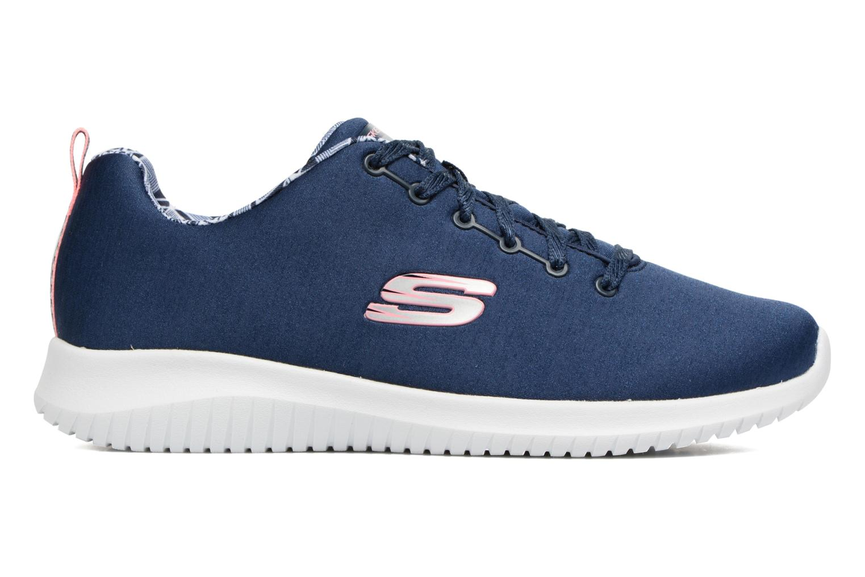 Chaussures de sport Skechers Ultra Flex-First Choice Bleu vue derrière
