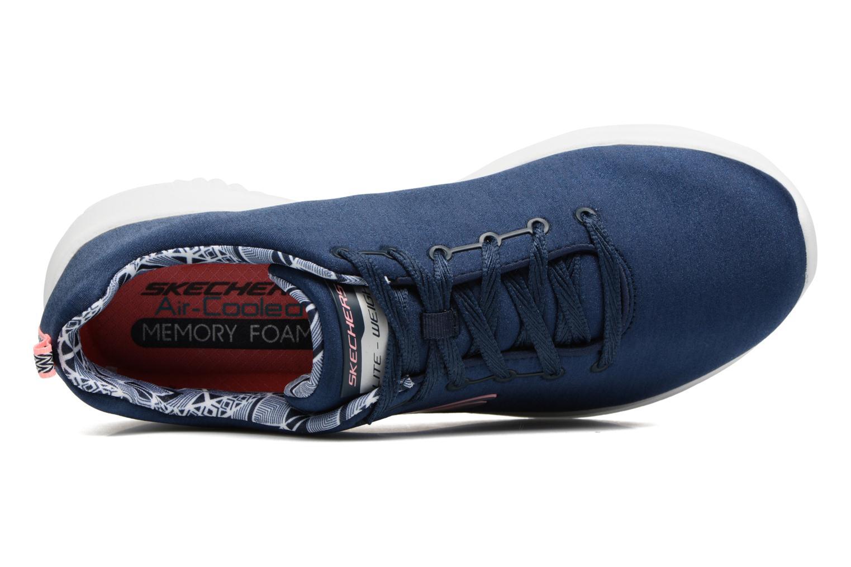 Chaussures de sport Skechers Ultra Flex-First Choice Bleu vue gauche