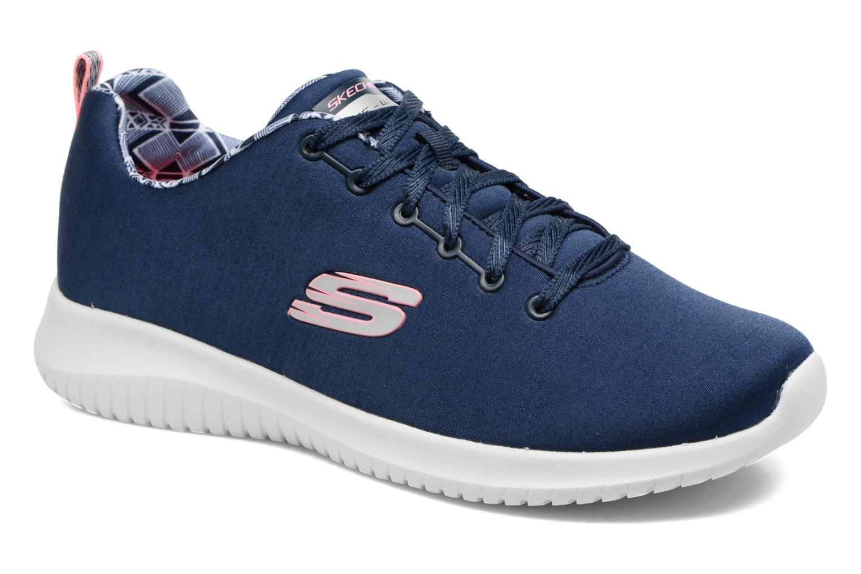 Chaussures de sport Skechers Ultra Flex-First Choice Bleu vue détail/paire