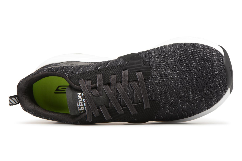 Chaussures de sport Skechers Go Run Ride 7- Noir vue gauche