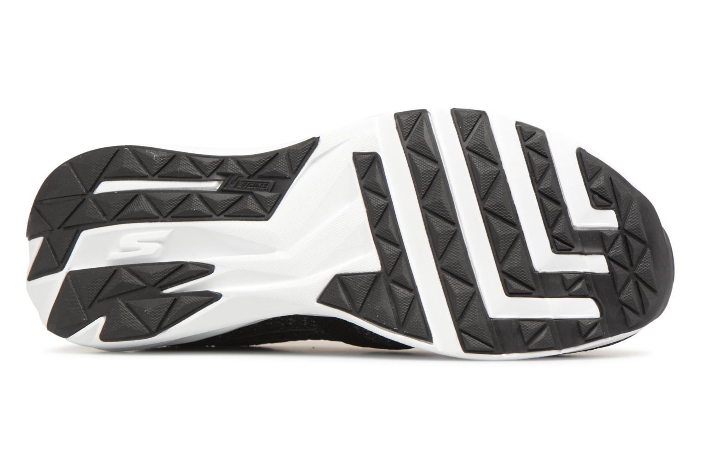 Chaussures de sport Skechers Go Run Ride 7- Noir vue haut