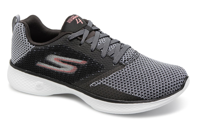 Gran descuento Skechers Go Walk 4 1 (Negro) - Zapatillas de deporte en Más cómodo