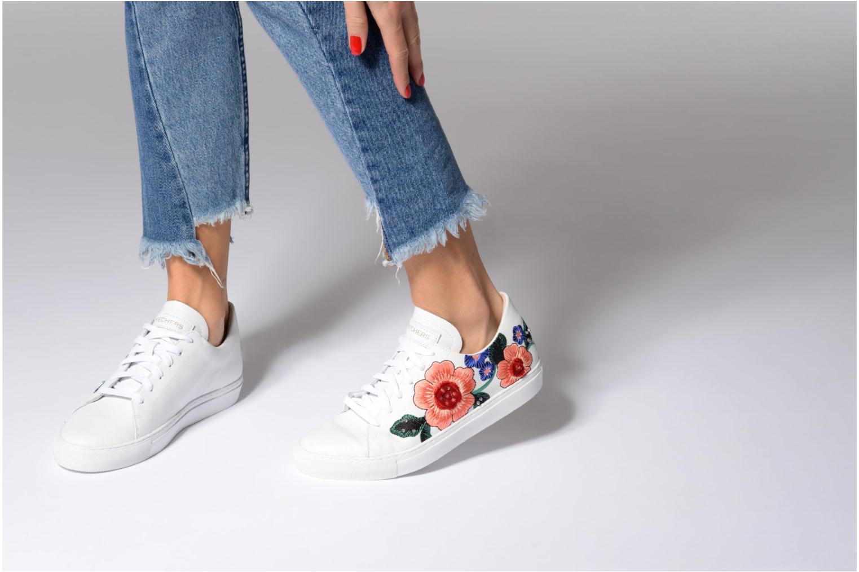 Baskets Skechers Vaso-Flor Blanc vue bas / vue portée sac