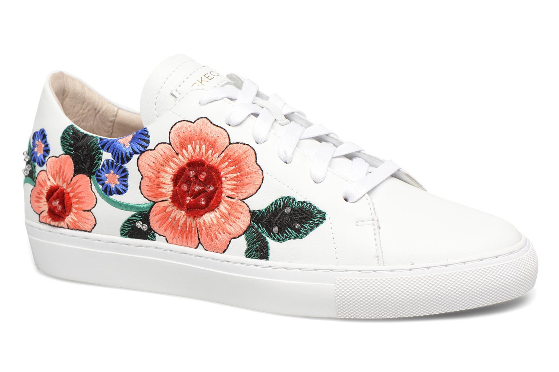 Zapatos promocionales Skechers Vaso-Flor (Blanco) - Deportivas   Venta de liquidación de temporada