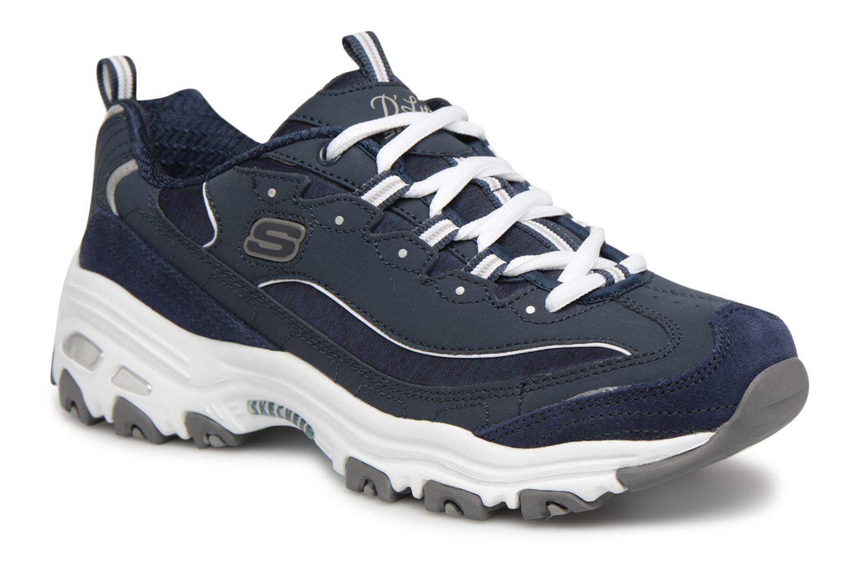Sneakers Skechers D'Lites-Me Time Bianco vedi dettaglio/paio