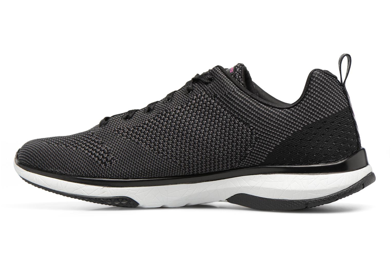 Chaussures de sport Skechers Burst Tr-Close Knit Noir vue face