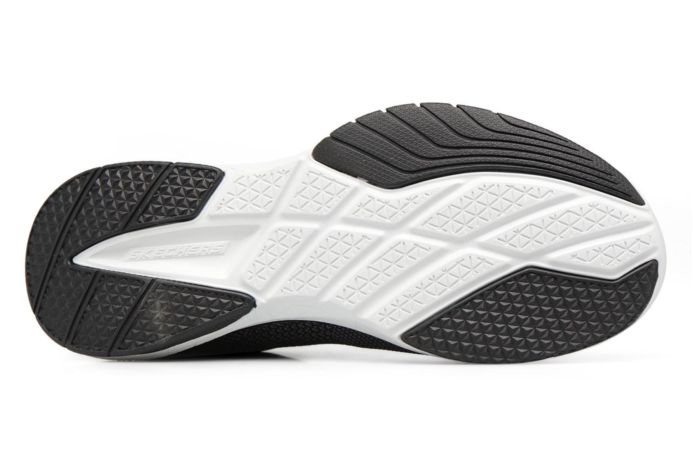 Chaussures de sport Skechers Burst Tr-Close Knit Noir vue haut