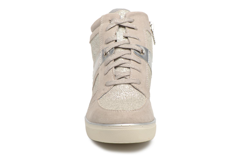 Baskets Xti Arbojo Argent vue portées chaussures