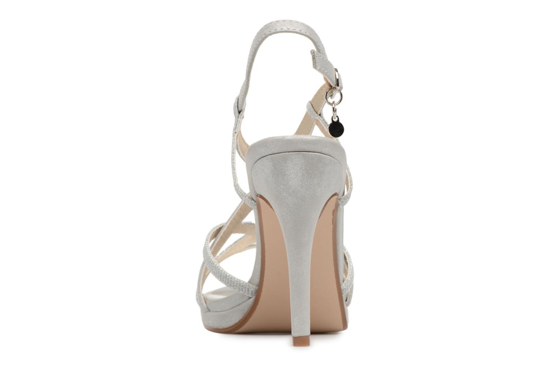 Sandales et nu-pieds Xti Eulery Argent vue droite
