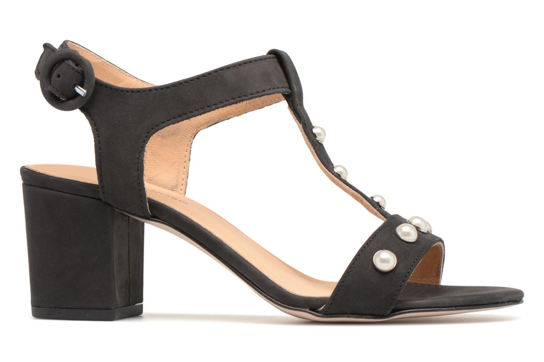 Sandales et nu-pieds Georgia Rose Lyperla Noir vue derrière