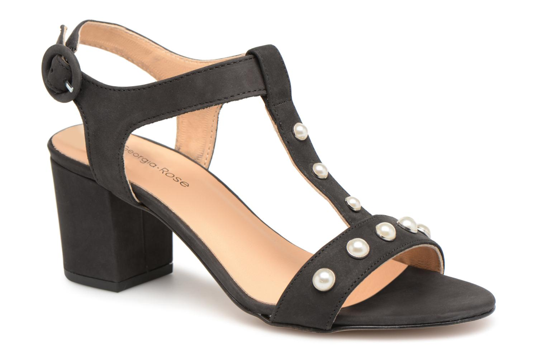 Sandales et nu-pieds Georgia Rose Lyperla Noir vue détail/paire