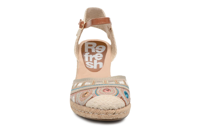 Espadrilles Refresh Hebi Multicolore vue portées chaussures