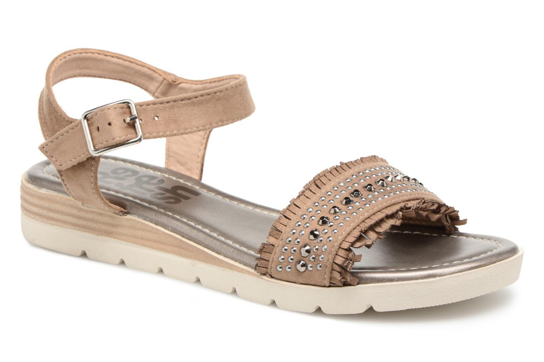 Refresh Tidu (Marron) - Sandales et nu-pieds chez Sarenza (317622)