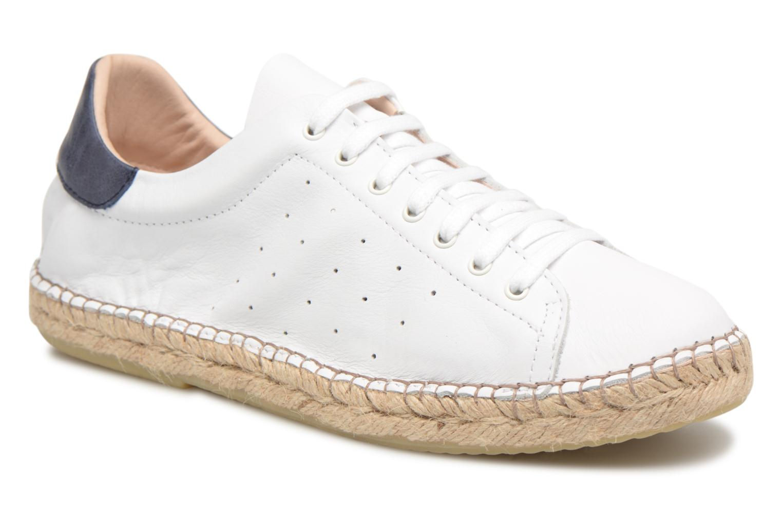 Espadrilles Mr SARENZA Ispadrille White view from the right