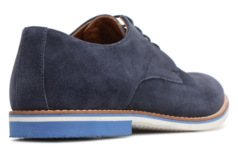 Chaussures à lacets Mr SARENZA Tallow Bleu vue face