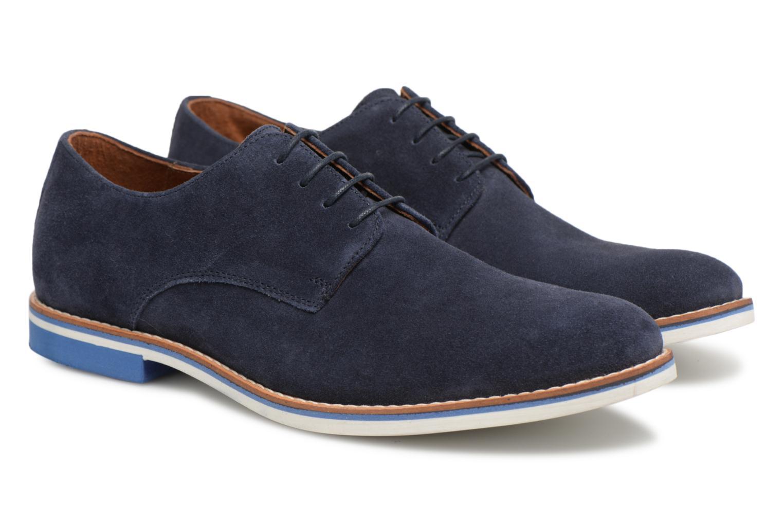 Chaussures à lacets Mr SARENZA Tallow Bleu vue derrière