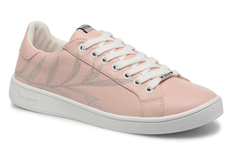 Grandes descuentos últimos zapatos Pepe jeans Brompton Embroidery (Rosa) - Deportivas Descuento