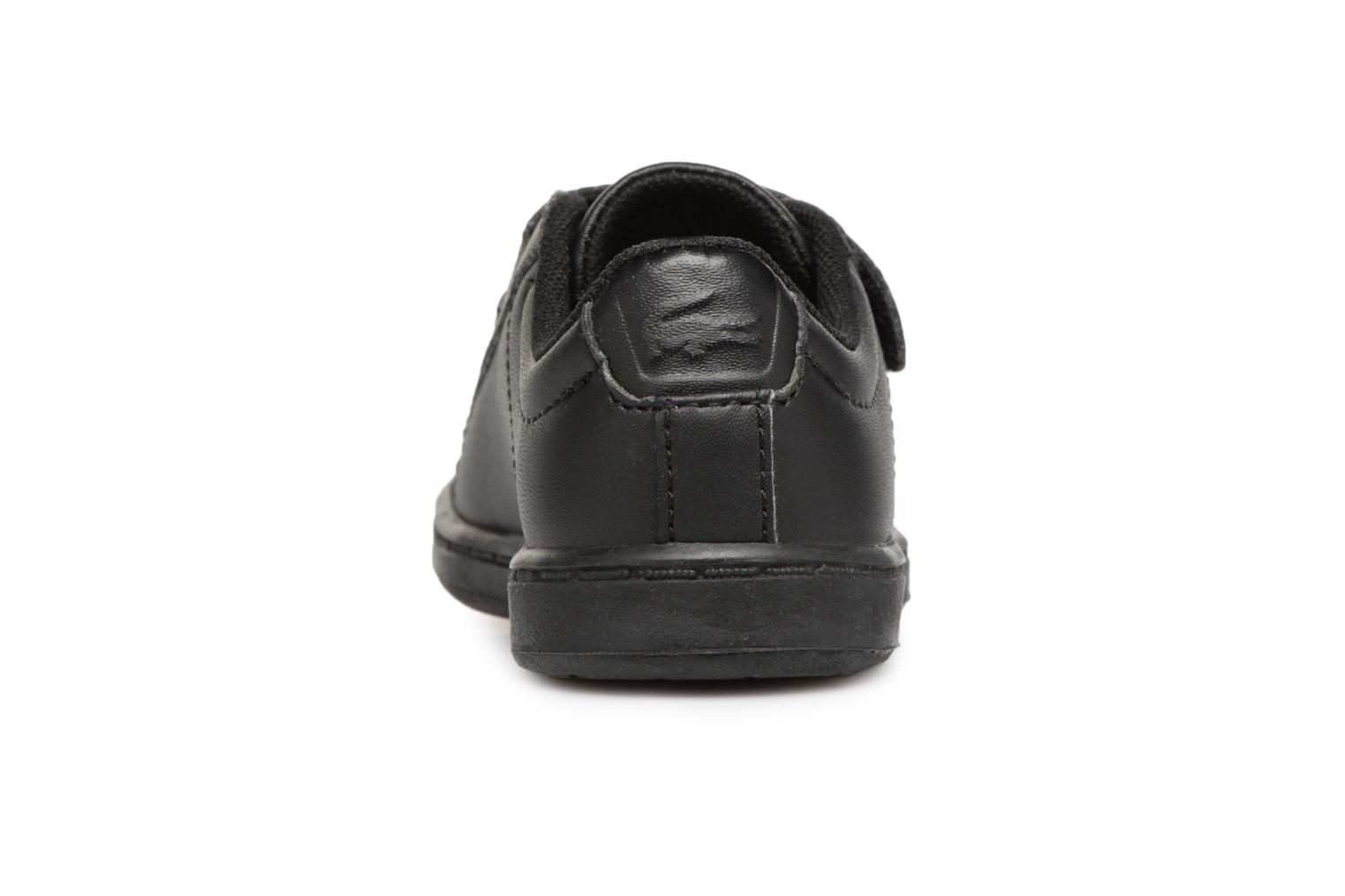 Baskets Lacoste Carnaby Evo 118 4 Inf Noir vue droite