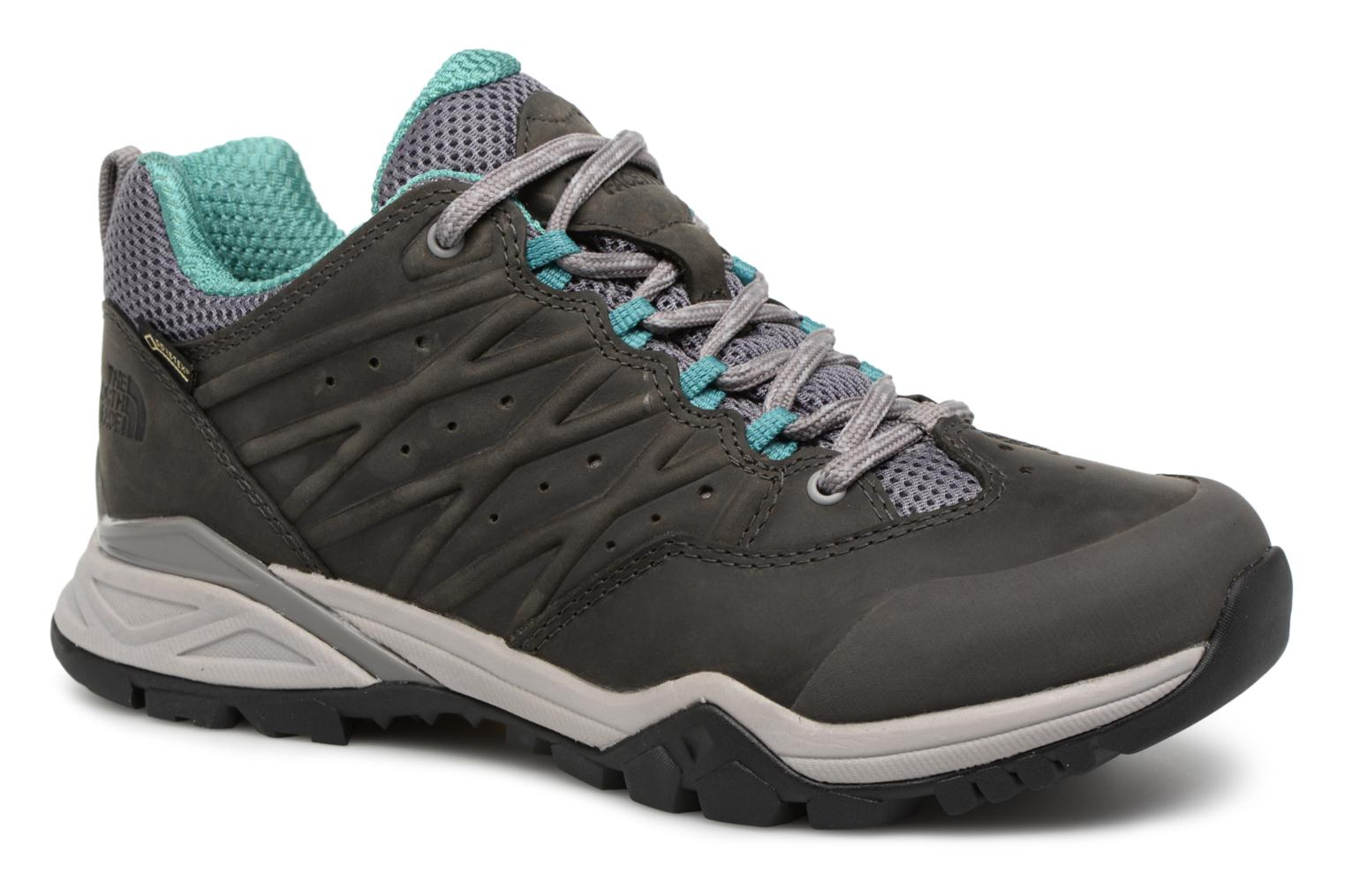 Chaussures de sport The North Face Hedgehog Hike II GTX W Gris vue détail/paire