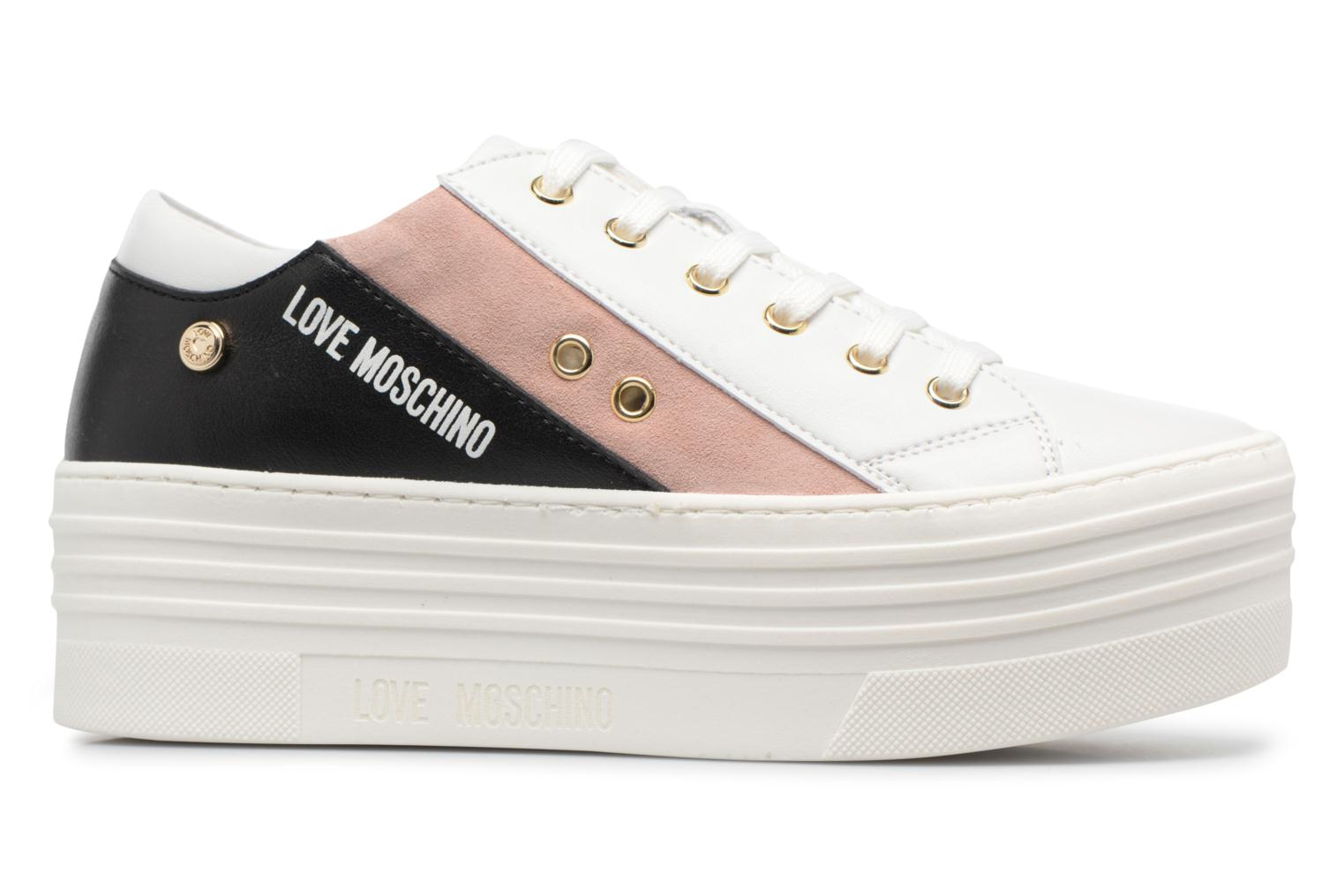 Sneakers Love Moschino Tennis JA15126G15 Wit achterkant